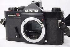 **EXC** Konica Autoreflex T3 35mm SLR Film Camera Body Only **Black** #Q024c