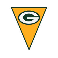 NFL GREEN BAY PACKERS PLASTIC FLAG BANNER Birthday Party Supplies Football
