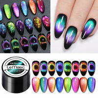 LEMOOC 5ml 9D Magnetic Gel Polish Cateye Effect UV LED Gel Soak Off Nail Art