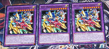 Yu-Gi-Oh MIL1-EN040 XYZ Dragon Cannon Rare X3 Playset 1st Edition