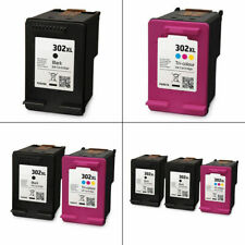 Refilled 302XL Black / Colour 17ml Ink Cartridges For HP OfficeJet 4658 Printer
