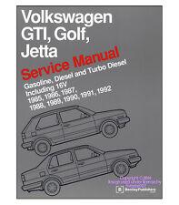 Bentley Repair Guide Service Manual VW Gasoline Diesel Turbo GTI Golf Jetta 16V
