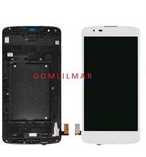 LCD Screen Digitizer Touch+frame  LG K8 K350N K350E US375 Phoenix 2 K371 WHITE