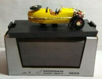 BRUMM LIMITED EDITION 1:43 SCALE 1933 MORGAN SUPER SPORT - YELLOW - LE.1 - #5756