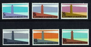 MINT 1981 NEW ZEALAND NZ LIGHTHOUSES GOVERNMENT LIFE INSURANCE STAMP SET