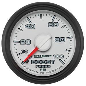 Autometer Factory Match 52.4mm Mechanical 0-100 PSI Boost Gauges 3 pressure Rang