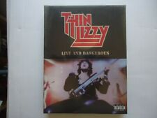 cd+dvd box THIN LIZZY Live and Dangerous € 45 (sealed)