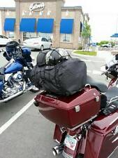 "MOTORCYCLE SADDLE BAG TOUR PACK CARGO NET 15"" X 15"" BUNGEE CORD HELMETS COAT"