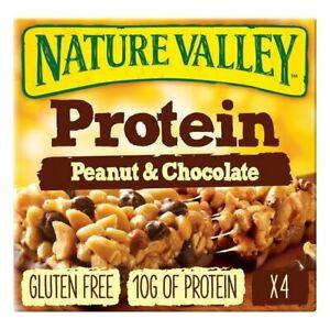 24 x 4 Nature's Valley Protein Mixed Case (16 x Peanut Choc, 8 x Caramel)
