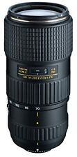 Tokina telephoto zoom lens AT-X 70-200mm F4 PRO FX VCM-S Nikon for full-size cor