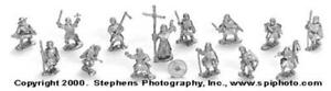 Old Glory Crusaders & Saracens 25mm First Crusade - Monks and Pilgrims Pack New