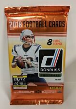 2018 Panini Donruss NFL FOOTBALL Factory Sealed Retail (1) Pack - 8 Cards L@@K