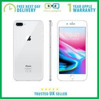 New Sealed Apple iPhone 8 Plus 64GB Silver - Unlocked - 1 Year Apple Warranty