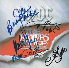 AC/DC Razor's Edge Signed Full group CD AFTAL OnlineCOA