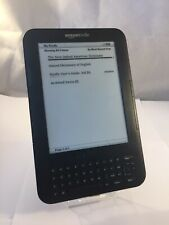 Amazon Kindle Keyboard 3rd Gen D00901 Wi-Fi e-Booker Reader Grade B