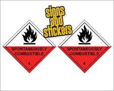 Combustible espontáneamente 4-Doble Pack emergencia Diamantes