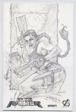 TOMB RAIDER # 38 ROMANO SKETCH-VARIANT-EDITION - 99 Ex - COMIC ACTION 2006 - TOP