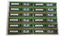 BARRETTE MÉMOIRE RAM DDR2 SAMSUNG 2 GO 2RX8 PC2-6400E-666-12-G3 SERVEUR ECC
