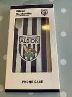 WBA Offical Merchandise West Bromwich Albion iphone X Case Cover BNIB RRP £12