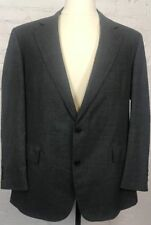 BROOKS BROTHERS Makers Blazer Men's 43R Gray 100% Wool Vintage