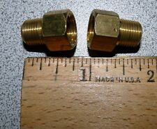 """TWO (2) DORMAN MALE Flare Fitting 1/4"""" x 1/8"""" MNPT 490-312  FORD Tractor 87971S"""