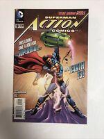 Action Comics (2012)  #9 (NM) Calvin Ellis Superman | 1st Full Cover App variant