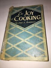 The Joy of Cooking by Irma S. Rombauer Classic Cookbook Recipes 1943 Edition