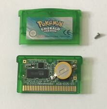 Pokemon Emerald Nintendo GBA Gameboy Advance Game Cartridge GENUINE New Battery