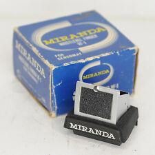 Miranda VF-1 Waist Level Viewfinder For Sensomat, Miranda Cameras (6588BL)