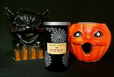 Yankee candle 2015 Limited Edition Halloween Black Magic candle. Discontinued!!