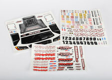Traxxas TRA6813 Decal/Sticker Sheet: 1/10 Slash 4x4