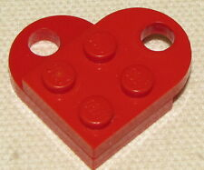 LEGO RED VALENTINES DAY HEART LOVE TOKEN CHARM NECKLACE PIECE