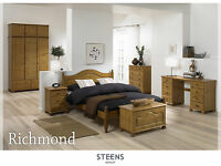 Richmond Pine Bedroom Furniture Wardrobes & Chest of Drawers