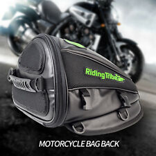 Bike Seat Saddle Bag, Bicycle Rear Tail Strap-On Pouch Large Storage Tail Pouch