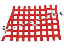 STR Race Window Net,SFI 27.1 Certified installation kit,RED AUTOGRASS MINI STOX