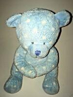 "Russ Binkles Blue And White Bear 10"" Plush Stuffed Animal"