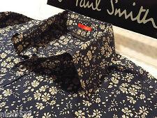 "Paul Smith Chemise Homme 🌍 taille L (tour de poitrine 42"") 🌎 RRP £ 95+ 🌏 fleuri style liberty"