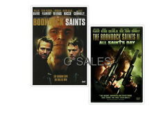 The Boondock Saints 1 & 2 & All Saints Day BRAND NEW FILM SERIES DVD SET