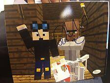 Dan TDM Signed 8x10 Photo Mine Craft Rare JSA You Tube D3