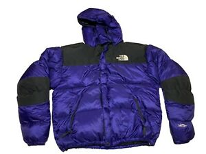 VTG The North Face Gore DryLoft Down Insulated BlueBlack Puffer Jacket Size XL