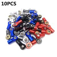 10PCS ALLOY M3 Tie Rod End Ball Joint For 1/0 Crawler Rc Truck SCX10 D90 TRX-4