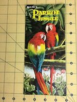 Vintage Brochure Miami's Parrot Jungle South Florida's International Attraction
