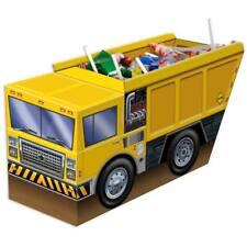 Construction Zone 3-D Dump Truck Centerpiece Party Decoration