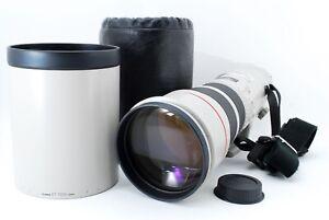 【NEAR MINT 】 Canon EF 500mm f/4.5 L USM ULTRASONIC Lens w/ Hood from JAPAN 1579