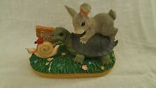 Steady Wins the Race~ Charming Tails ~ 89/716 (Fitz & Floyd Collectible)