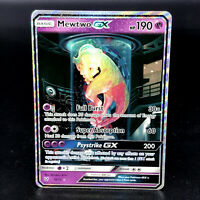 Mewtwo GX - SM Shining Legends 78/73 - Secret Rare Full Art Holo Pokemon Card