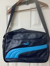 Blue Shoulder Bag By Puma Messenger Strap Laptop Carrying Case