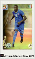 #130 Mario Balotelli Rainbow 2010 Panini World Cup Soccer Trading Card-Rare
