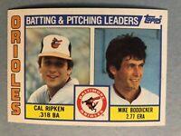 1984 Topps Baltimore Orioles Complete Team Set - 29 cards Palmer/Murray/Ripken