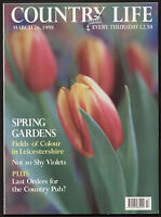 Country Life Mar 1998 TRENGWAINTON CORNWALL BRINKFIELDS LEICS VIOLETS HACHE